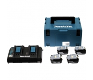 Pack 4 batteries 18 V 4,0 Ah en Makpac