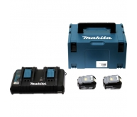Pack 2 batteries 18 V 5,0 Ah en Makpac